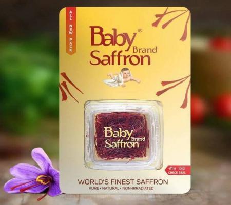 Nhụy hoa nghệ tây Kashmir Baby Saffron Ấn Độ hàng chuẩn 100%