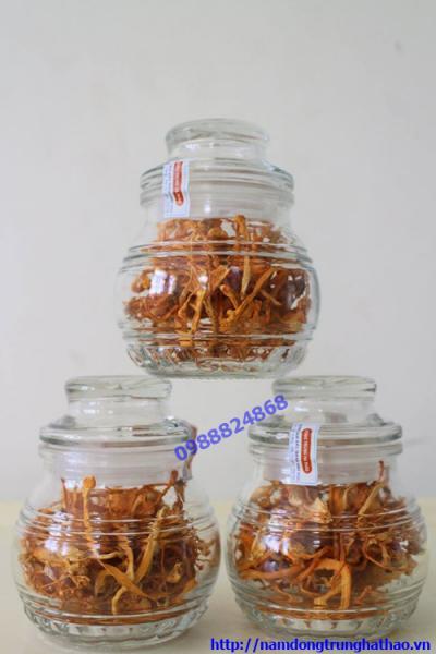 Đông Trùng Hạ Thảo sinh khối gạo lứt sấy khô